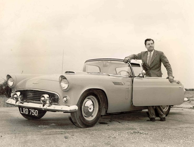 Kenneth More and his car