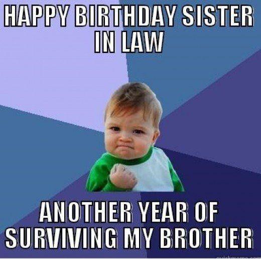 Best 25+ Sister In Law Meme Ideas On Pinterest