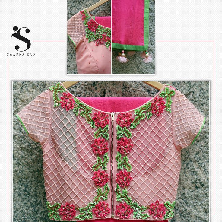 Revamp your closet with the stylish pink blouse and pink saree !! swapnarao  swapnaraostudio  hyderabad  fashiondesigner  traditions  contemporary  silhouettes  weddingseason  bride  bridesmaid 29 September 2016