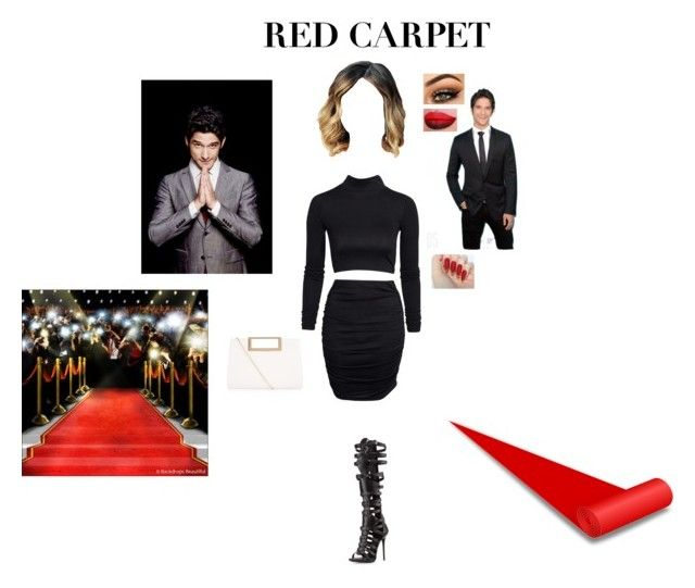 """""""Red Carpet With Tyler"""" by itsalyssianicole on Polyvore featuring NLY Trend, Giuseppe Zanotti, Jeffree Star, New Look, RedCarpet, boyfriend, TylerPosey and costar"""