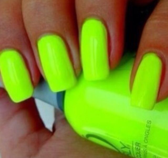 45 best Nails images on Pinterest | Neon green nails, Nail polish ...