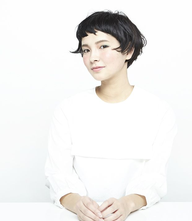 髪型 ヘアスタイル short bob with shattered bangs