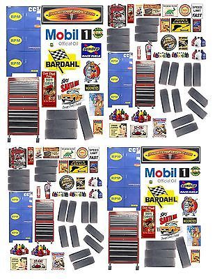 1:24th GARAGE SHOP DECALS FOR DIECAST & MODEL CAR DIORAMAS