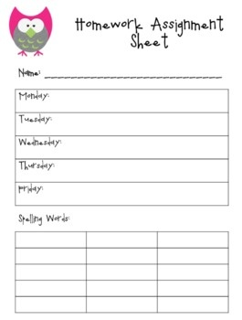 communication assignment cover sheet