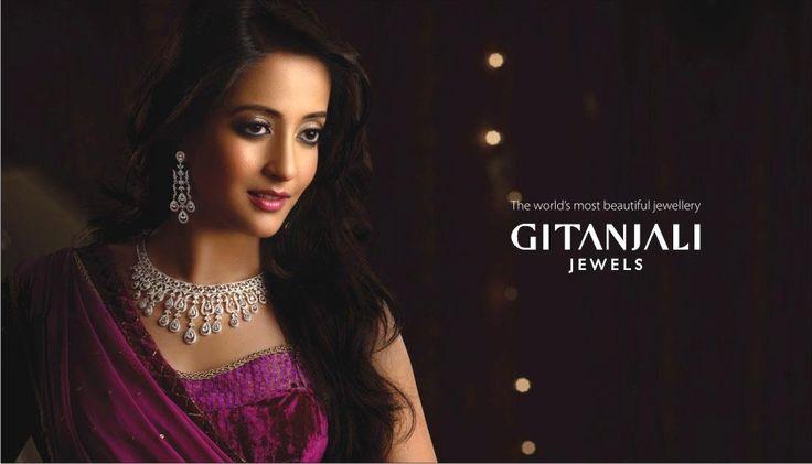 #Gitanjali #Jewels new brand ambassador #raima #sen