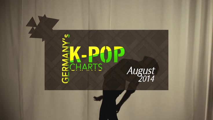 Germany's K-Pop Charts: August 2014