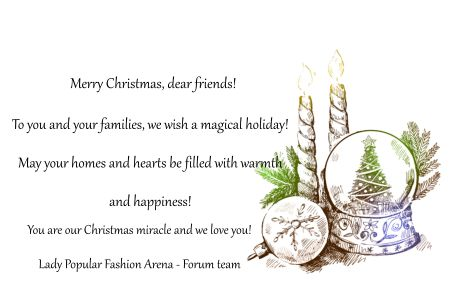 Merry Christmas!  from LP FA team!!!SSS+++