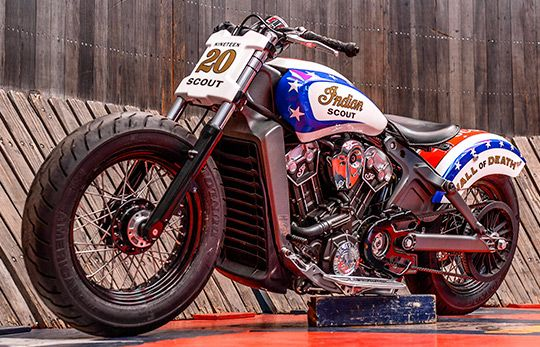 2015 Indian Scout Launch Party at Cyril Huze Post – Custom ...