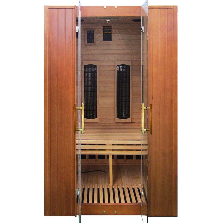Kompaktowych rozmiarów sauna infrared znajdzie swoje zastosowanie zarówno w domu jednorodzinnym,...