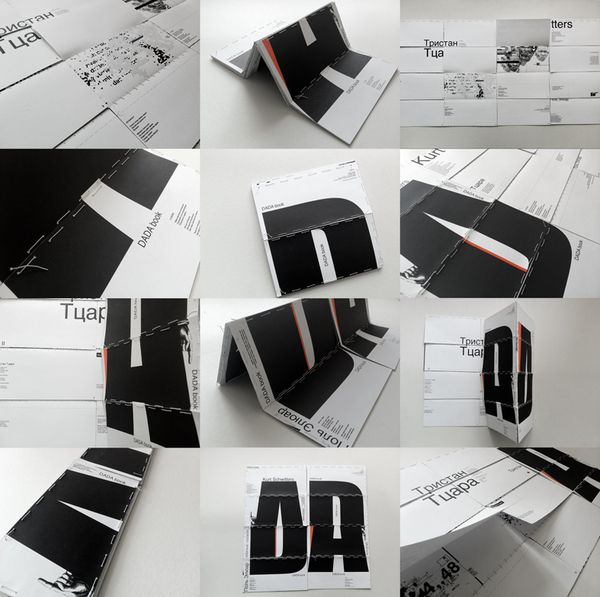 DADA book by ME U WE , via Behance
