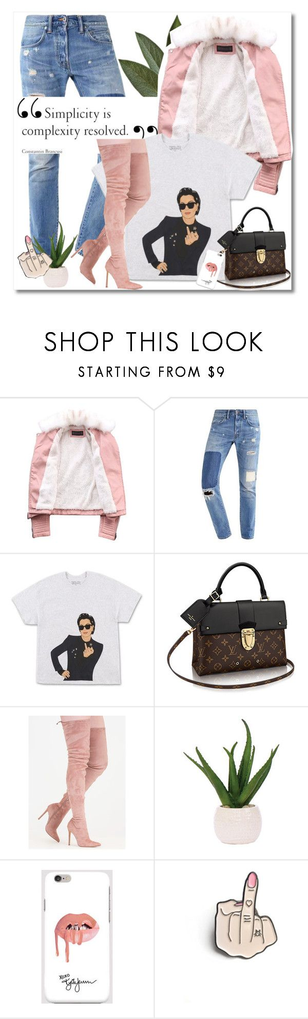 """Untitled #594"" by zalarupar ❤ liked on Polyvore featuring Kendall + Kylie and Lux-Art Silks"