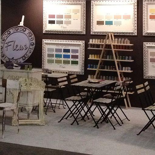 Feria Paper World . #fleurpaint #stand #chalkylook #pinturachalk