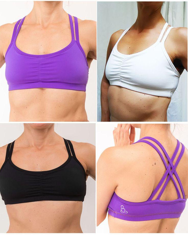 Carmella bra tops from  sweat-n-stretch.com