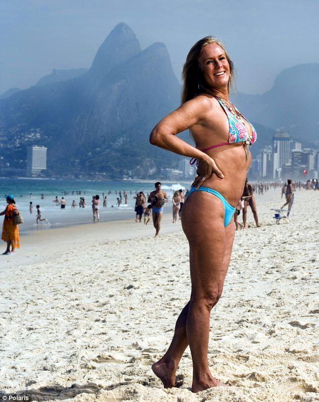 Nude class brazil grannie bikini