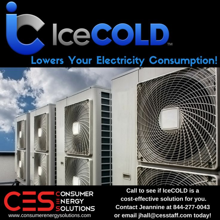 #CES now offers this AMAZING Green HVAC Solution that increases the efficiency of your commercial cooling system, extends the life of the equipment, reduces CO2 emissions and more...guaranteed!   IceCOLD has a 14 year track record, is fully insured and lowers your electricity consumption.   Call to see if this is a cost-effective solution for your business. Contact Jeannine at 844-277-0043 or email jhall@cesstaff.com today!   #EnergyEfficiency #Green #HVAC #Commercial