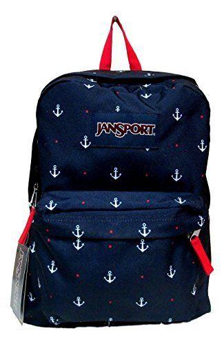Jansport Superbreak Backpack! (Red Tape/Land Ahoy)