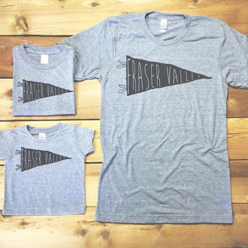 Fraser Valley Tees by Locomotive Clothing - Available exclusively at Spruce Collective