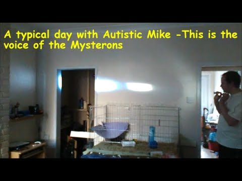 A typical day with Autistic Mike  - This is the voice of the Mysterons