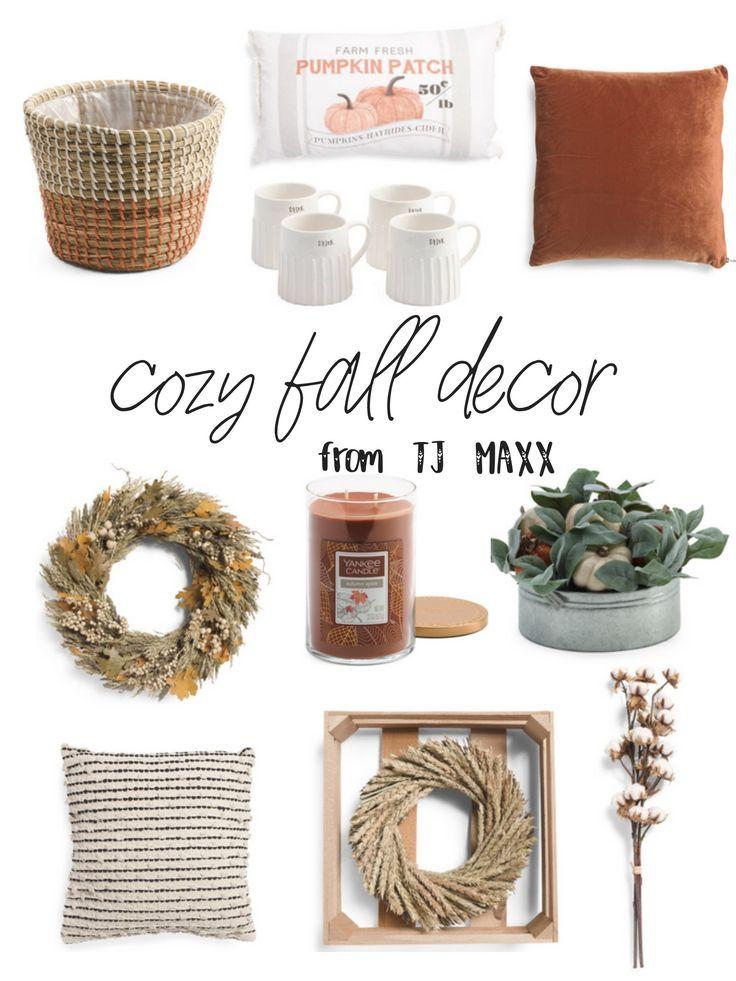Cozy Fall Decor Finds At Tj Maxx Grace Gathered Girl Cozy Fall Decor Neutral Fall Decor Fall Decor Inspiration