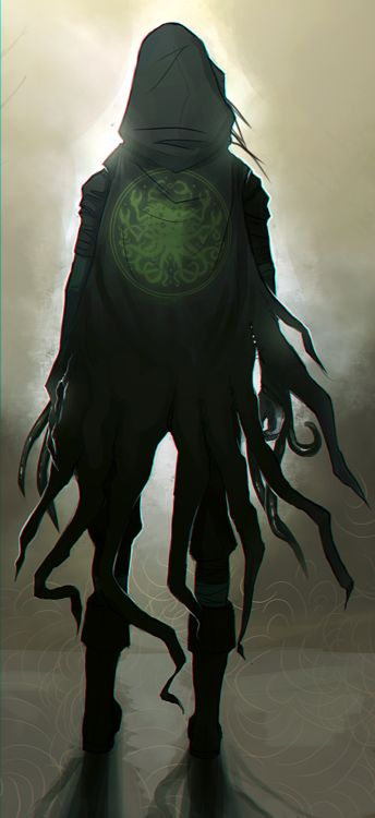 TES art,The Elder Scrolls,фэндомы,adelein-gardinier,Хермеус Мора,Лорды Даэдра,TES Персонажи