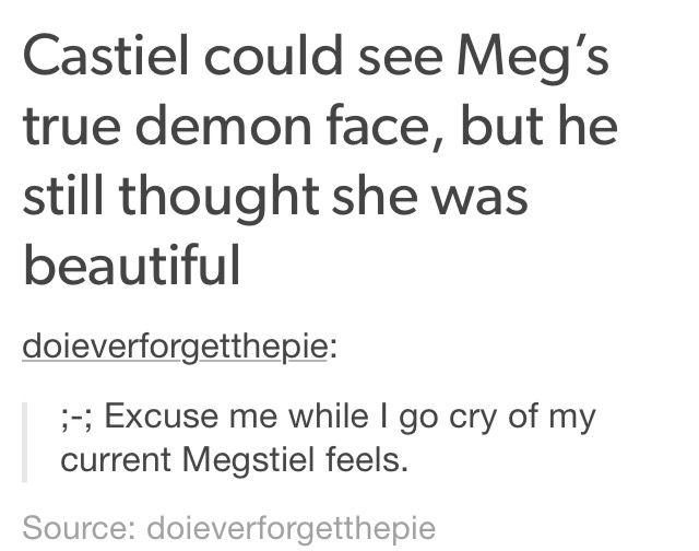 Megstiel (meg x Cas) supernatural