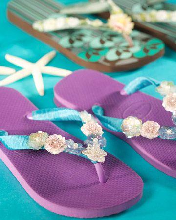 Get ready for summer! Cute flip flops!