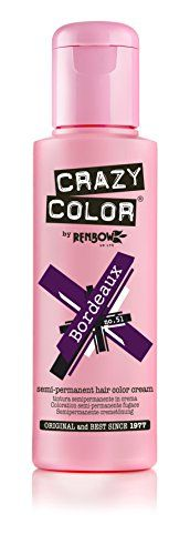Crazy Color BORDEAUX 51 Semi Permanent Liquid Cream Hair Colour Dye Tint Pack Bottle 100ml by Crazy Color //Price: $ & FREE Shipping // #‎healthbenefits‬ ‪#‎lifestyle‬ ‪#‎healthy‬ ‪#‎energy #healthypeople   #relax #nocancer #firstaid #womenhealth #menhealth