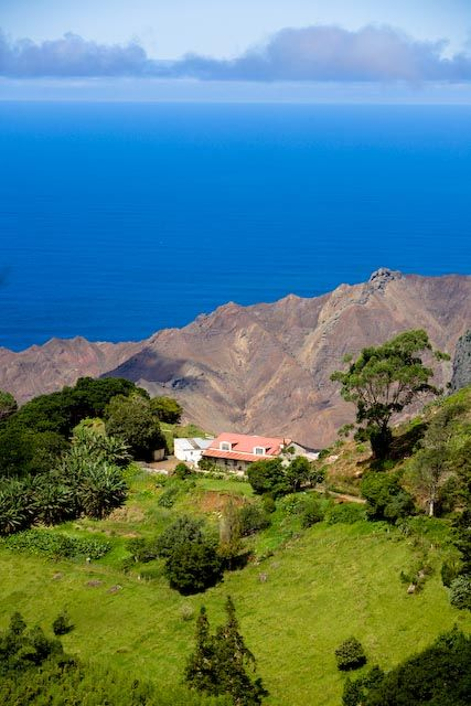 Ascencion Island, Saint Helena Island in the South Atlantic Ocean