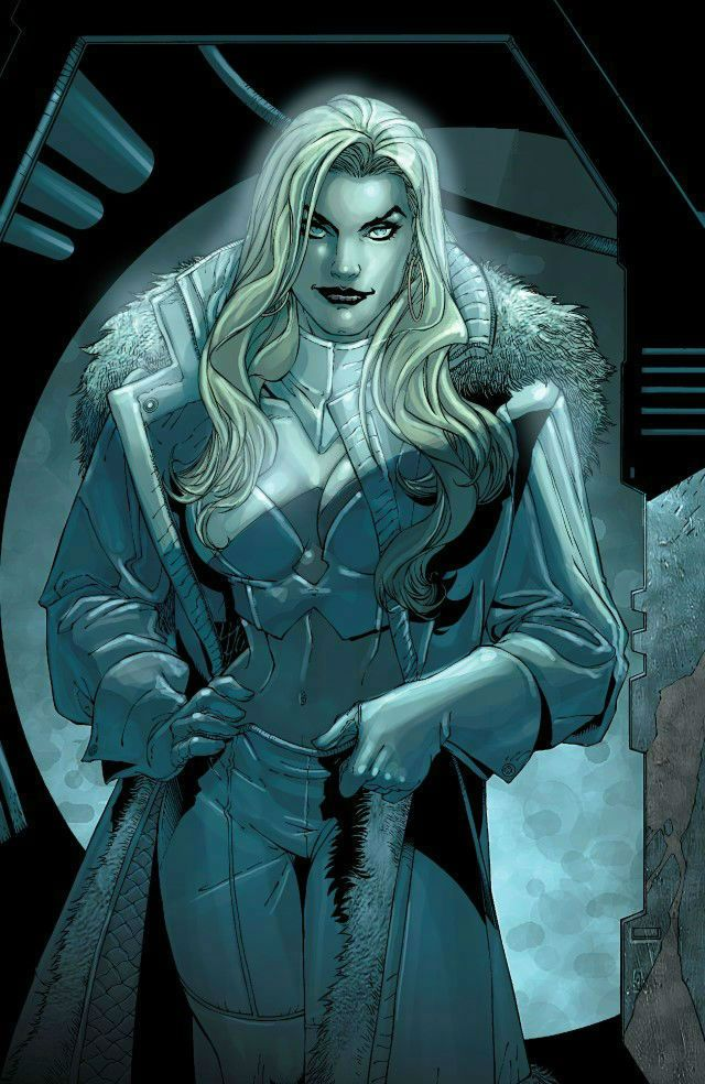 Emma Frost by Salvador Larroca                                                                                                                                                                                 More