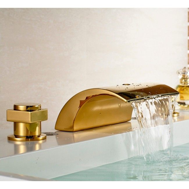 Bathroom Faucets Gold Finish 56 best gold bathroom sink faucet images on pinterest | gold