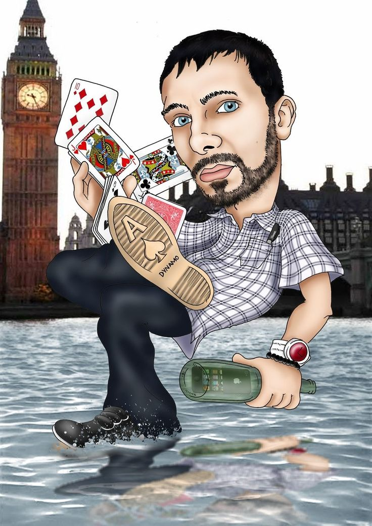 Dynamo showing off his awesome magic tricks!!!!