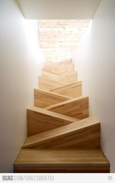Unusual Staircase Design #stairs, #design, #homedecor, https://facebook.com/apps/application.php?id=106186096099420