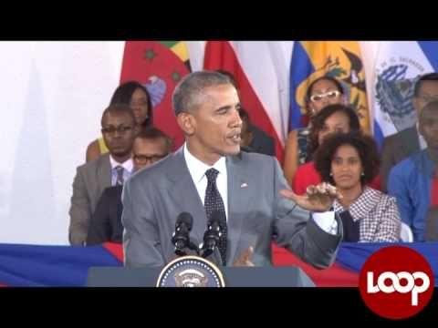 Obama's Speach in Jamaica [Video] - http://www.yardhype.com/obamas-speach-in-jamaica-video/