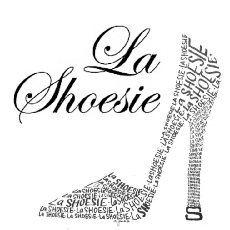 Logo. My sisters beautiful personalized artwork. Great for gift giving. She does much more than shoe too! Become a fan of her Facebook page!