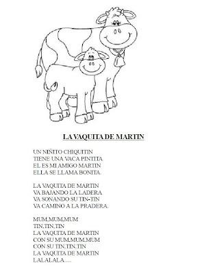 RECURSOS EDUCACION INFANTIL: Animales: Canciones