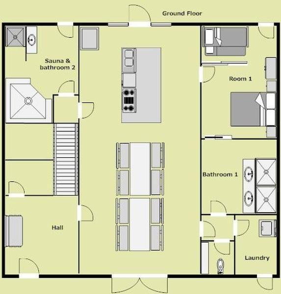 Louer fermette 6 chambre s coucher surface habitable 400 m2 authentique grange de - Surface habitable minimum d une chambre ...