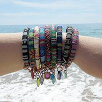 #boho#colorful #bracelets by craftlet.com
