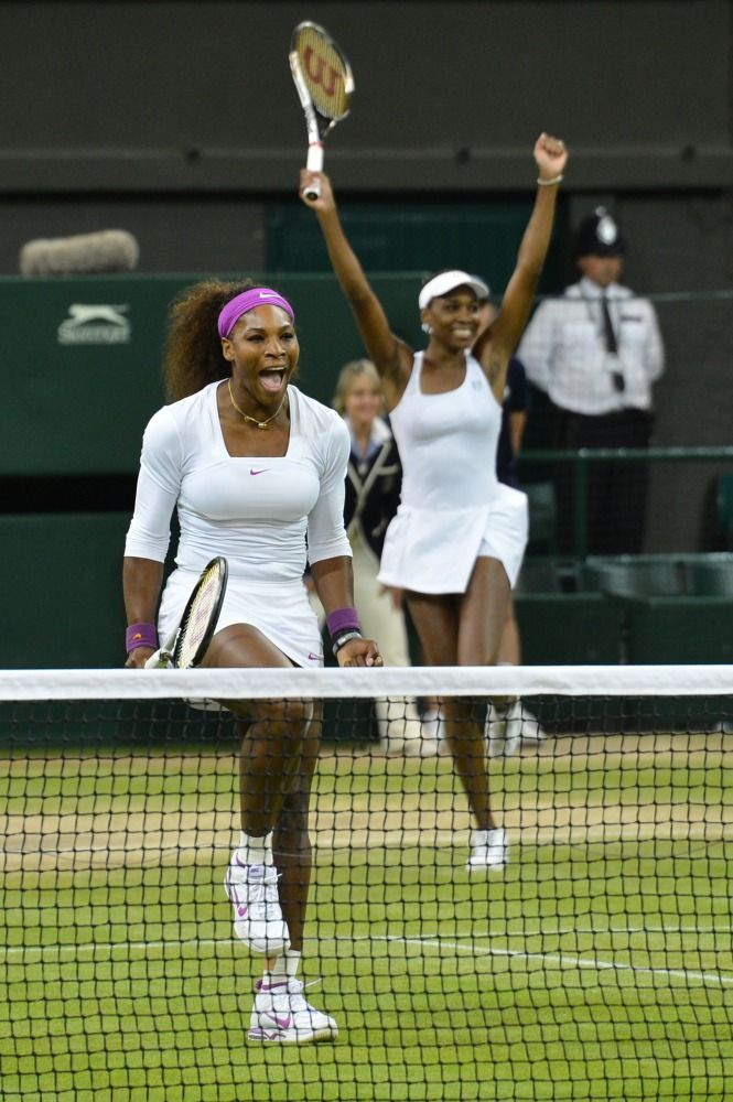 Look fab and fit like the Williams sisters in our #tennis apparel found on #pinksandgreens!