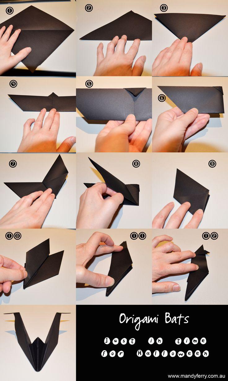 Best 25+ Origami halloween ideas only on Pinterest | Halloween ...
