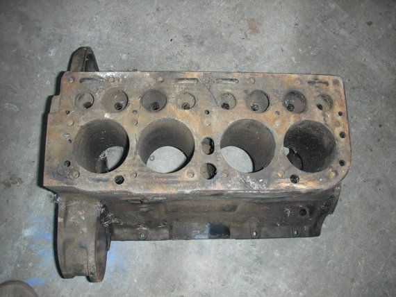 Hercules ZXA flat head 4 cylinder engine blocks by vintagehouses