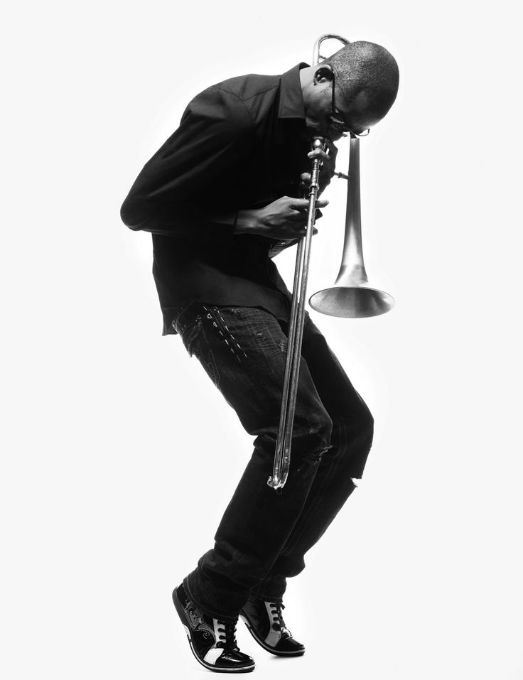 Trombone Shorty - 25-year-old New Orleans trombone and trumpet player - born Troy Andrews in the Treme neighborhood in New Orlean's 6th Ward. He played alongside Bo Diddley at the tender age of 4.