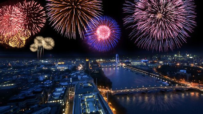 London firework displays - Bonfire Night 2015 - New Year's Eve fireworks in London - Time Out London