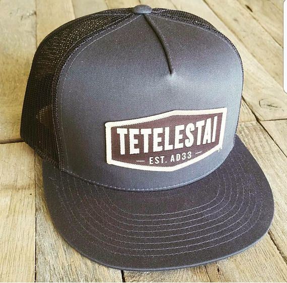 These TETELESTAI Trucker Hats are a great way to share the gospel message! Tetelestai is a greek word which means It is Finished, the last words spoken by Jesus from the cross. (John 19:30). Simply, where the hat, and when someone asks you what it means, tell them it means It is Finished. if they ask you What is finished?, simply tell them, those are the last words spoken by Jesus from the cross, he said It is finished, all of our sins have been paid in full. Size: Snap back, one size fits…