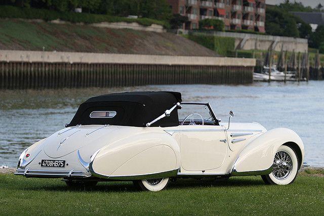 1948 Delahaye 135 M Figoni et Falaschi 3-Postion Cabriolet
