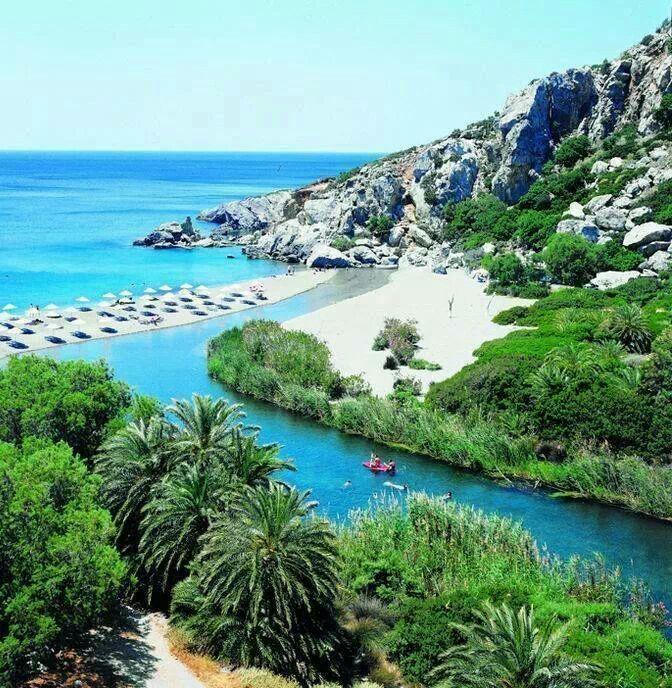 Preveli Beach, Crete: absolutely stunning!