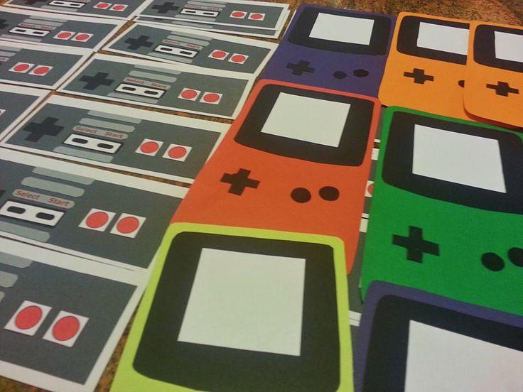 Gameboy Color and NES Controllers door decs! & 123 best RA Door Decs images on Pinterest | Door decks Ra door ... Pezcame.Com