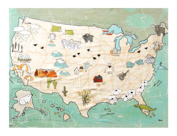 Hey, I found this really awesome Etsy listing at https://www.etsy.com/listing/63800318/usa-map-print-travel-art-map-artwork