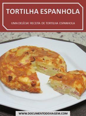 A tortilha espanhola é uma espécie de  omelete, feita com ovos e batatas fritas.