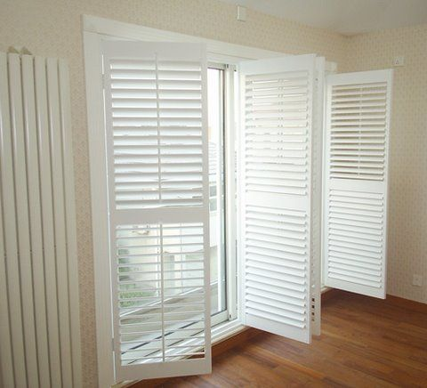 Beautiful, Big Plantation Shutters · Sliding Glass DoorSliding ...