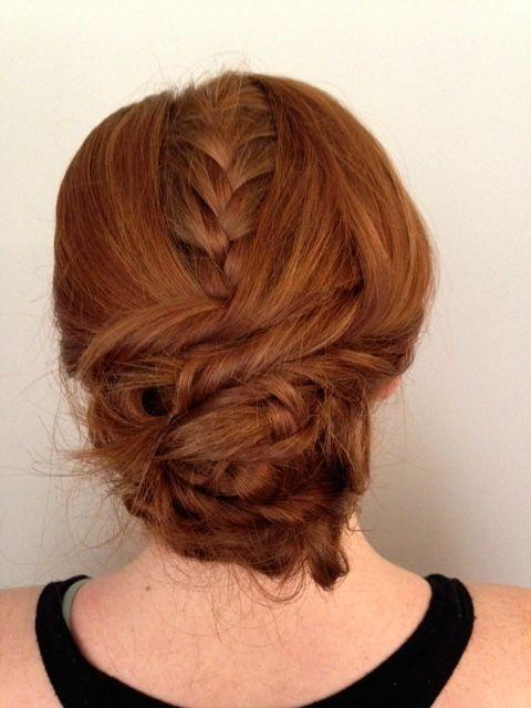 Peekaboo braid by Liz